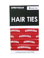 Husker Hair Tie 4 Pack Nebraska Cornhuskers, Nebraska  Ladies Accessories, Huskers  Ladies Accessories, Nebraska  Youth, Huskers  Youth, Nebraska  Childrens, Huskers  Childrens, Nebraska  Kids, Huskers  Kids, Nebraska  Ladies, Huskers  Ladies, Nebraska  Jewelry & Hair, Huskers  Jewelry & Hair, Nebraska Nebraska Quad Pack Hair-Tie Bow, Huskers Nebraska Quad Pack Hair-Tie, Husker Hair Tie 4 Pack Elastic