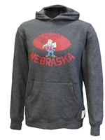 Husker Herbie Football Hoodie Nebraska Cornhuskers, Nebraska  Mens T-Shirts, Huskers  Mens T-Shirts, Nebraska  Mens, Huskers  Mens, Nebraska Gray Herbie Football Herbie RB, Huskers Gray Herbie Football Herbie RB
