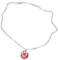 Husker Layered Necklace Nebraska Cornhuskers, Nebraska  Ladies Accessories, Huskers  Ladies Accessories, Nebraska  Ladies, Huskers  Ladies, Nebraska  Jewelry & Hair, Huskers  Jewelry & Hair, Nebraska Husker Layered Necklace, Huskers Husker Layered Necklace