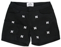 Husker Logo Embroidered Short- Black Nebraska Cornhuskers, Nebraska  Shorts, Pants & Skirts, Huskers  Shorts, Pants & Skirts, Nebraska Shorts & Pants, Huskers Shorts & Pants, Nebraska Husker Logo Embroidered Short- Black, Huskers Husker Logo Embroidered Short- Black