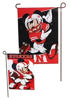 Husker Mickey Mouse Garden Flag Nebraska Cornhuskers, Nebraska  Flags & Windsocks, Huskers  Flags & Windsocks, Nebraska  Flags & Windsocks, Huskers  Flags & Windsocks, Nebraska  Toys & Games, Huskers  Toys & Games, Nebraska Husker Mickey Mouse Garden Flag, Huskers Husker Mickey Mouse Garden Flag
