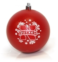 Husker N Snowflake Ornament Nebraska Cornhuskers, Nebraska  Holiday Items, Huskers  Holiday Items, Nebraska  Novelty, Huskers  Novelty, Nebraska Husker N Snowflake Ornament, Huskers Husker N Snowflake Ornament