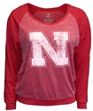 Husker Red Gemini Long Sleeve Banded Tee Nebraska Cornhuskers, Nebraska  Ladies T-Shirts, Huskers  Ladies T-Shirts, Nebraska  Long Sleeve, Huskers  Long Sleeve, Nebraska  Ladies, Huskers  Ladies, Nebraska Husker Red Gemini Long Sleeve Banded Tee, Huskers Husker Red Gemini Long Sleeve Banded Tee
