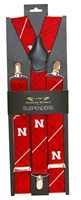 Husker Red N Suspenders Nebraska Cornhuskers, Nebraska  Mens Accessories, Huskers  Mens Accessories, Nebraska  Mens, Huskers  Mens, Nebraska  Watches Bands & Buckles, Huskers  Watches Bands & Buckles, Nebraska Husker Red N Suspenders, Huskers Husker Red N Suspenders