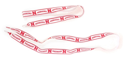 Husker Ribbon Shoelaces Nebraska Cornhuskers, husker football, nebraska cornhuskers merchandise, nebraska merchandise, husker merchandise, nebraska cornhuskers apparel, husker apparel, nebraska apparel, husker womens apparel, nebraska cornhuskers womens apparel, nebraska womens apparel, husker womens merchandise, nebraska cornhuskers womens merchandise, womens nebraska accessories, womens husker accessories, womens nebraska cornhusker accessories,Lace Husker Garter