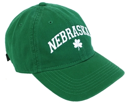 Husker St. Patty's Cap Nebraska Cornhuskers, Nebraska  Mens Hats, Huskers  Mens Hats, Nebraska  Mens Hats, Huskers  Mens Hats, Nebraska  Ladies Hats, Huskers  Ladies Hats, Nebraska  Ladies Hats, Huskers  Ladies Hats, Nebraska Green Washed EZA 3 Leaf Clover Legacy, Huskers Green Washed EZA 3 Leaf Clover Legacy