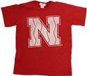 "Husker Youth ""N""  Short Sleeve Tee Nebraska Cornhuskers, Nebraska  Short Sleeve, Huskers  Short Sleeve, Nebraska  Kids, Huskers  Kids, Nebraska  Youth, Huskers  Youth, Nebraska Husker Youth N  Short Sleeve Tee, Huskers Husker Youth N  Short Sleeve Tee"