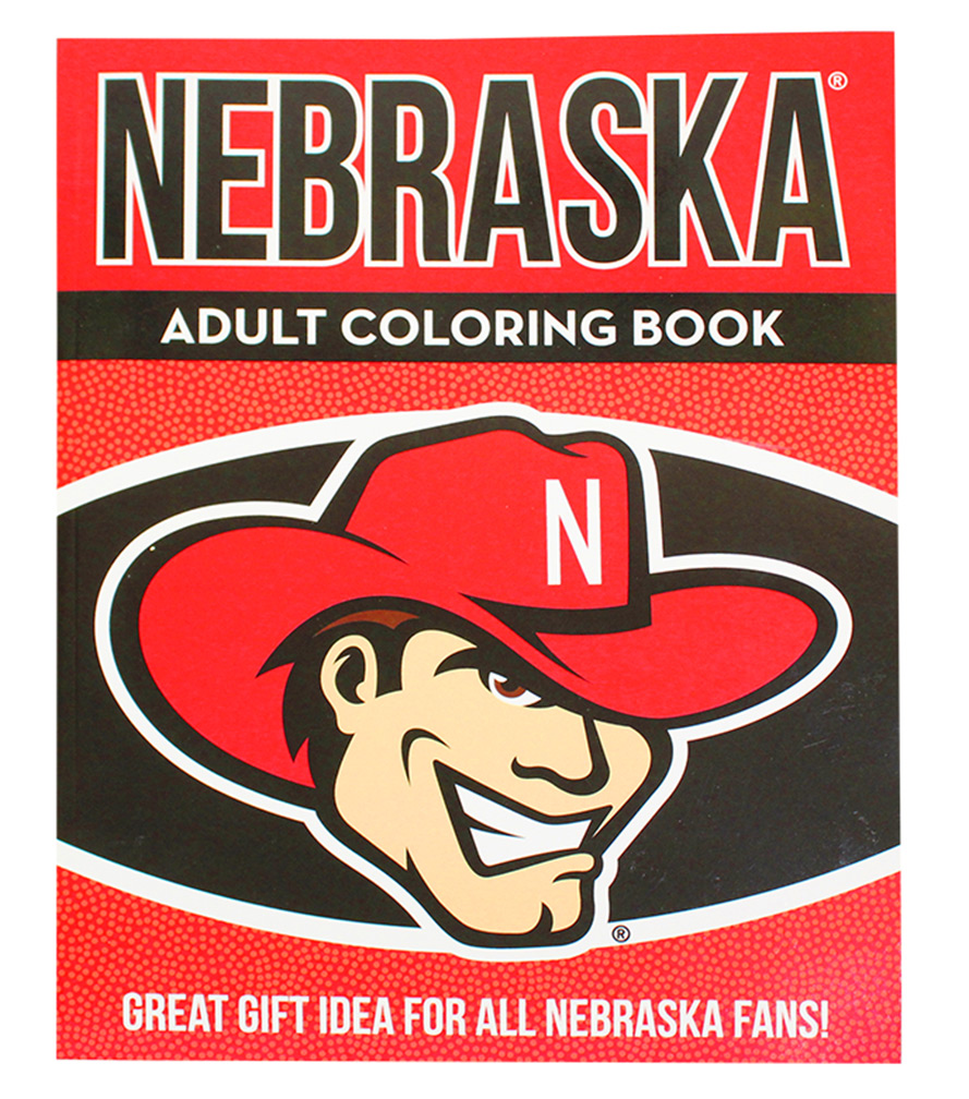 Huskers Adult Coloring Book - BC-A0023 ...