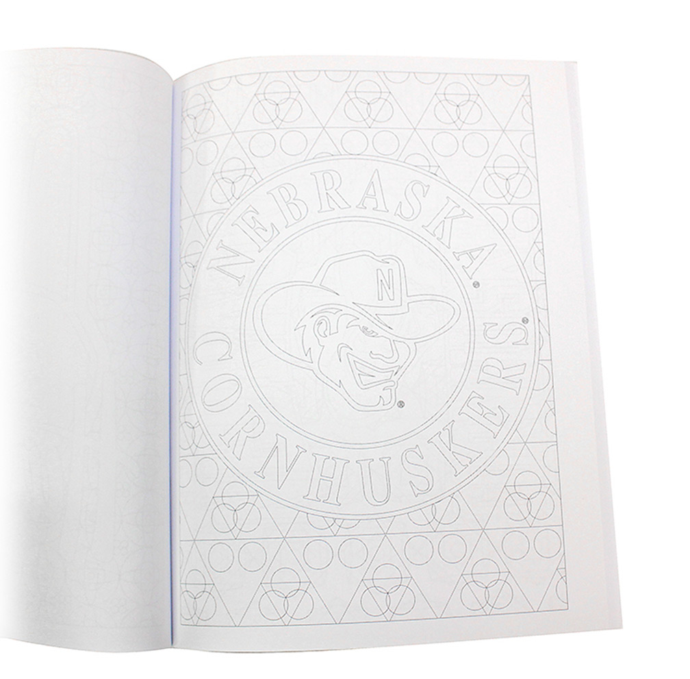 ... Huskers Adult Coloring Book - BC-A0023 ...