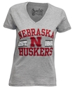 Huskers Established Tribune VNeck Tee Nebraska Cornhuskers, Nebraska  Ladies T-Shirts, Huskers  Ladies T-Shirts, Nebraska  Short Sleeve, Huskers  Short Sleeve, Nebraska  Ladies, Huskers  Ladies, Nebraska Huskers Established Tribune VNeck Tee, Huskers Huskers Established Tribune VNeck Tee