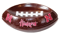 Huskers Football Soap Dish Nebraska Cornhuskers, Nebraska  Bedroom & Bathroom, Huskers  Bedroom & Bathroom, Nebraska Huskers Football Soap Dish, Huskers Huskers Football Soap Dish
