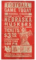 Huskers Game Day Sign Nebraska Cornhuskers, Nebraska  Office Den & Entry, Huskers  Office Den & Entry, Nebraska  Game Room & Big Red Room, Huskers  Game Room & Big Red Room, Nebraska  Framed Pieces, Huskers  Framed Pieces, Nebraska Huskers Game Day Sign, Huskers Huskers Game Day Sign