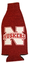 Huskers Glitter Bottle Koozie Nebraska Cornhuskers, Nebraska  Ladies, Huskers  Ladies, Nebraska  Tailgating, Huskers  Tailgating, Nebraska  Ladies Accessories , Huskers  Ladies Accessories , Nebraska Huskers Glitter Bottle Kooze, Huskers Huskers Glitter Bottle Kooze