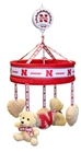 Huskers Lulliby Crib Mobile - CH-B8688