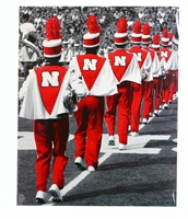 Huskers Marching Band Print Nebraska Cornhuskers, Nebraska  Prints & Posters, Huskers  Prints & Posters, Nebraska  Other Sports, Huskers  Other Sports, Nebraska Huskers Marching Band Print, Huskers Huskers Marching Band Print