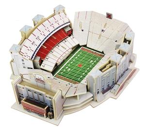 Memorial Stadium 3d Husker Puzzle