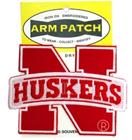 Huskers N Logo 4 Inch Embroidered Patch Nebraska Cornhuskers, Nebraska  Tattoos & Patches, Huskers  Tattoos & Patches, Nebraska  Tattoos & Patches, Huskers  Tattoos & Patches, Nebraska Huskers N Logo 4 Inch Embroidered Patch, Huskers Huskers N Logo 4 Inch Embroidered Patch