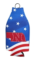 Huskers Patriotic Bottle Coolie Nebraska Cornhuskers, Nebraska  Tailgating, Huskers  Tailgating, Nebraska Huskers Patriotic Bottle Coolie, Huskers Huskers Patriotic Bottle Coolie