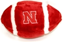 Huskers Plush Football with Iron N Nebraska Cornhuskers, Nebraska  Toys & Games, Huskers  Toys & Games, Nebraska  Childrens, Huskers  Childrens, Nebraska  Balls, Huskers  Balls, Nebraska Huskers Plush Football, Huskers Huskers Plush Football