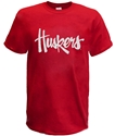 Huskers Script Tee - Red Nebraska Cornhuskers, Nebraska  Mens T-Shirts, Huskers  Mens T-Shirts, Nebraska  Mens, Huskers  Mens, Nebraska  Short Sleeve, Huskers  Short Sleeve, Nebraska  Ladies T-Shirts, Huskers  Ladies T-Shirts, Nebraska  Ladies, Huskers  Ladies, Nebraska Huskers Script Tee - Red, Huskers Huskers Script Tee - Red