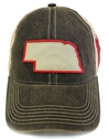 Huskers State Washed Black Trucker Lid Nebraska Cornhuskers, Nebraska  Mens Hats, Huskers  Mens Hats, Nebraska  Mens Hats, Huskers  Mens Hats, Nebraska Huskers State Washed Black Trucker Lid, Huskers Huskers State Washed Black Trucker Lid