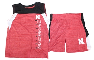 Huskers Toddler Titan Short Set Nebraska Cornhuskers, Nebraska  Childrens, Huskers  Childrens, Nebraska Toddler Titan Short Set Col, Huskers Toddler Titan Short Set Col