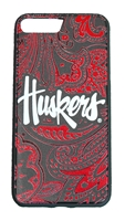 Huskers iPhone 7+ and 8+ Paisley Bumper Case Nebraska Cornhuskers, Nebraska  Novelty, Huskers  Novelty, Nebraska  Mens Accessories, Huskers  Mens Accessories, Nebraska  Ladies Accessories, Huskers  Ladies Accessories, Nebraska  Mens, Huskers  Mens, Nebraska  Ladies, Huskers  Ladies, Nebraska Huskers iPhone 7+ and 8+ Paisley Bumper Case, Huskers Nebraska Huskers iPhone 7+ and 8+ Paisley Bumper Case