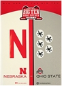 Inaugural Big Ten Home Game Program Nebraska Cornhuskers, Nebraska One of a Kind, Huskers One of a Kind, Nebraska Inaugural Big Ten Home Game Program, Huskers Inaugural Big Ten Home Game Program