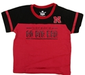 Infant Go Big Red Nebraska Ref Tee Nebraska Cornhuskers, Nebraska  Infant , Huskers  Infant , Nebraska Infant Go Big Red Nebraska Ref Tee, Huskers Infant Go Big Red Nebraska Ref Tee
