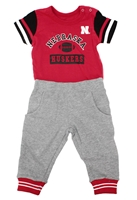Infant MVP Husker Helmet Set Nebraska Cornhuskers, Nebraska  Infant, Huskers  Infant, Nebraska Infant MVP Fleece SS Helmet Set, Huskers Infant MVP Fleece SS Helmet Set