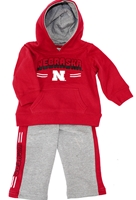 Infant Nebraska Kicker Hoodie Set Nebraska Cornhuskers, Nebraska  Infant, Huskers  Infant, Nebraska Infant Punter Fleece Hoodie Set Col, Huskers Infant Punter Fleece Hoodie Set Col
