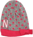 Infant Pink Polka Dot Knit Hat Nebraska Cornhuskers, Nebraska  Infant, Huskers  Infant, Nebraska  Kids Hats, Huskers  Kids Hats, Nebraska Pink, Huskers Pink, Nebraska Infant Pink Polka Dot Knit Hat, Huskers Infant Pink Polka Dot Knit Hat