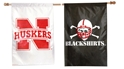 Iron N Blackshirts Flag Nebraska Cornhuskers, Nebraska  Patio, Lawn & Garden, Huskers  Patio, Lawn & Garden, Nebraska Blackshirts, Huskers Blackshirts, Nebraska  Flags & Windsocks, Huskers  Flags & Windsocks, Nebraska Iron N Blackshirts Flag, Huskers Iron N Blackshirts Flag