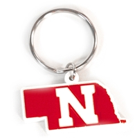 Iron N Flex Key Chain Nebraska Cornhuskers, Nebraska Vehicle, Huskers Vehicle, Nebraska Iron N Flex Key Chain, Huskers Iron N Flex Key Chain
