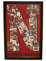 Iron N Framed Ticket Print - Red Nebraska Cornhuskers, Nebraska  Framed Pieces, Huskers  Framed Pieces, Nebraska  Game Room & Big Red Room, Huskers  Game Room & Big Red Room, Nebraska Iron N Framed Ticket Print - Red, Huskers Iron N Framed Ticket Print - Red