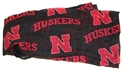 Iron N Infinity Scarf Nebraska Cornhuskers, Nebraska  Ladies Accessories, Huskers  Ladies Accessories, Nebraska  Ladies, Huskers  Ladies, Nebraska Iron N Infinity Scarf, Huskers Iron N Infinity Scarf