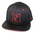 Iron N Ion Adjustable Flatbill Hat husker football, nebraska merchandise, husker merchandise, nebraska cornhuskers apparel, husker apparel, nebraska apparel, husker hats, nebraska hats, nebraska caps, husker caps, Nebraska Cornhuskers, Zephyr Iron N Ion Adjustable Flatbill Hat