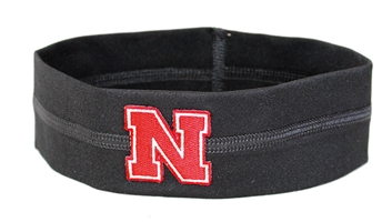 Iron N Loop Stretch Headband Nebraska Cornhuskers, Nebraska  Ladies, Huskers  Ladies, Nebraska  Ladies Accessories, Huskers  Ladies Accessories, Nebraska  Jewelry & Hair, Huskers  Jewelry & Hair, Nebraska Black Loop Stretch Headband 2 inch, Huskers Black Loop Stretch Headband 2 inch