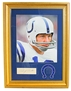 Johnny Unitas Autograph and Framed and Matted Print - OK-39623