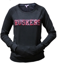 Lace Applique Pullover Nebraska Cornhuskers, Nebraska  Ladies Sweatshirts, Huskers  Ladies Sweatshirts, Nebraska  Ladies, Huskers  Ladies, Nebraska Lace Applique Pullover, Huskers Lace Applique Pullover