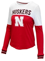 Ladies Husker Charlotte Top Nebraska Cornhuskers, Nebraska  Ladies T-Shirts, Huskers  Ladies T-Shirts, Nebraska  Ladies Tops, Huskers  Ladies Tops, Nebraska  Ladies, Huskers  Ladies, Nebraska Ladies Husker Charlotte Top, Huskers Ladies Husker Charlotte Top