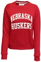 Ladies Husker Red Crew League Nebraska Cornhuskers, Nebraska  Ladies, Huskers  Ladies, Nebraska  Ladies Sweatshirts, Huskers  Ladies Sweatshirts, Nebraska  Ladies Tops, Huskers  Ladies Tops, Nebraska  Crew, Huskers  Crew, Nebraska Ladies Husker Red Crew League, Huskers Ladies Husker Red Crew League