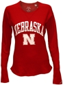 Ladies Husker Red Waffle League Nebraska Cornhuskers, Nebraska  Ladies Tops, Huskers  Ladies Tops, Nebraska  Ladies, Huskers  Ladies, Nebraska  Long Sleeve, Huskers  Long Sleeve, Nebraska  Ladies T-Shirts   , Huskers  Ladies T-Shirts   , Nebraska Ladies Husker Red Waffle League, Huskers Ladies Husker Red Waffle League