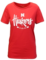 Ladies Huskers Script Champ Tee Nebraska Cornhuskers, Nebraska  Ladies Tops, Huskers  Ladies Tops, Nebraska  Ladies T-Shirts, Huskers  Ladies T-Shirts, Nebraska  Ladies, Huskers  Ladies, Nebraska  Short Sleeve, Huskers  Short Sleeve, Nebraska Red W SS Huskers Script Champ Tee, Huskers Red W SS Huskers Script Champ Tee
