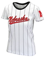 Ladies Pinstripe Nebraska Baseball Tee Nebraska Cornhuskers, Nebraska  Ladies Tops, Huskers  Ladies Tops, Nebraska  Ladies T-Shirts, Huskers  Ladies T-Shirts, Nebraska  Ladies, Huskers  Ladies, Nebraska  Baseball, Huskers  Baseball, Nebraska Ladies Pinstripe Nebraska Baseball Tee, Huskers Ladies Pinstripe Nebraska Baseball Tee