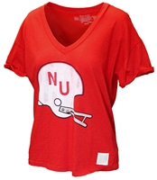 Ladies Slub Vintage NU Helmet Top Nebraska Cornhuskers, Nebraska  Ladies T-Shirts, Huskers  Ladies T-Shirts, Nebraska  Ladies Tops, Huskers  Ladies Tops, Nebraska  Ladies, Huskers  Ladies, Nebraska  Short Sleeve, Huskers  Short Sleeve, Nebraska Red SS W Slub Helmet NU Tee RB, Huskers Red SS W Slub Helmet NU Tee RB
