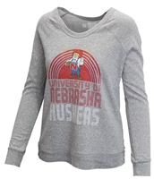 Ladies University of Nebraska LS Retro Tee Nebraska Cornhuskers, Nebraska  Ladies Tops, Huskers  Ladies Tops, Nebraska  Long Sleeve, Huskers  Long Sleeve, Nebraska Ladies University of Nebraska LS Retro Tee, Huskers Ladies University of Nebraska LS Retro Tee