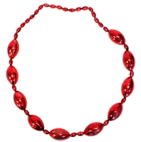 Large Red Footballs Beaded Necklace Nebraska Cornhuskers, Nebraska  Mens Accessories, Huskers  Mens Accessories, Nebraska  Ladies Accessories, Huskers  Ladies Accessories, Nebraska  Ladies, Huskers  Ladies, Nebraska  Mens, Huskers  Mens, Nebraska  Jewelry & Hair, Huskers  Jewelry & Hair, Nebraska  Beads & Fun Stuff, Huskers  Beads & Fun Stuff, Nebraska  Novelty, Huskers  Novelty, Nebraska Red Large Football Beaded Necklace IMC, Huskers Red Large Football Beaded Necklace IMC
