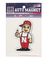 Lil Red Magnet Nebraska Cornhuskers, Nebraska Vehicle, Huskers Vehicle, Nebraska Stickers Decals & Magnets, Huskers Stickers Decals & Magnets, Nebraska Lil Red Magnet, Huskers Lil Red Magnet