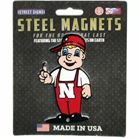 Lil Red Steel Magnet - 4 inch Nebraska Cornhuskers, Nebraska Stickers Decals & Magnets, Huskers Stickers Decals & Magnets, Nebraska  Toys & Games, Huskers  Toys & Games, Nebraska Lil Red Steel Magnet - 4 inch , Huskers Lil Red Steel Magnet - 4 inch
